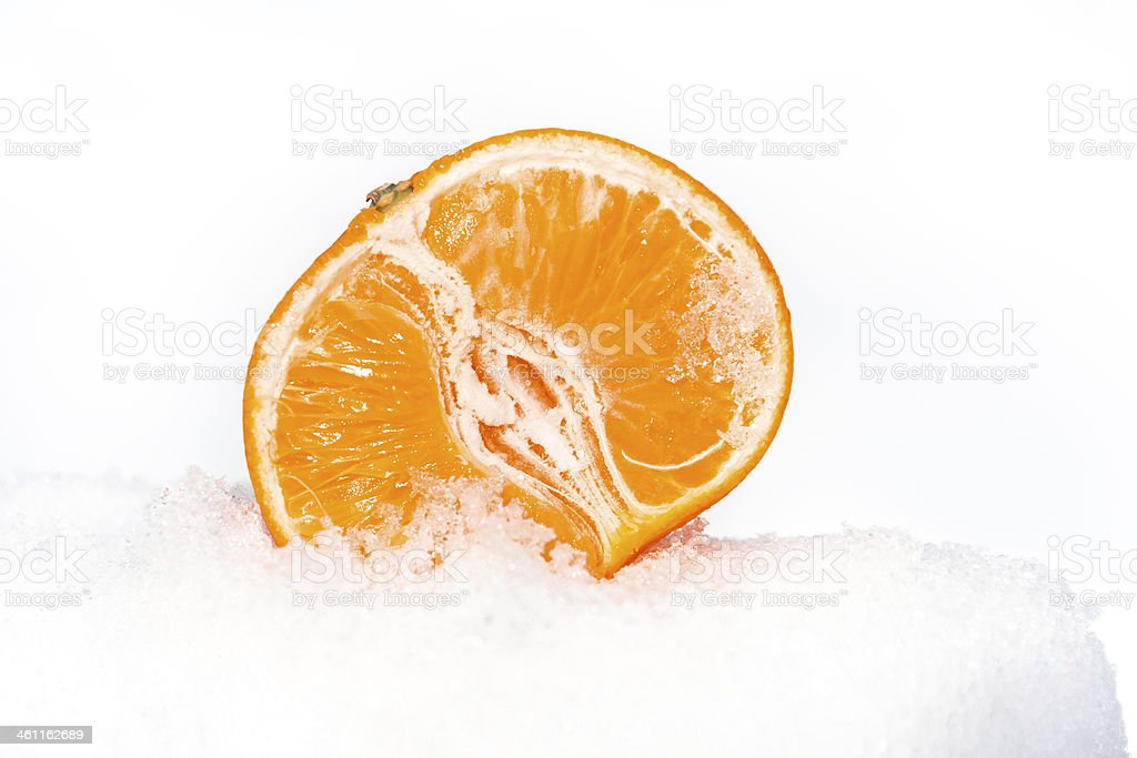 Mandarin Orange royalty-free stock photo