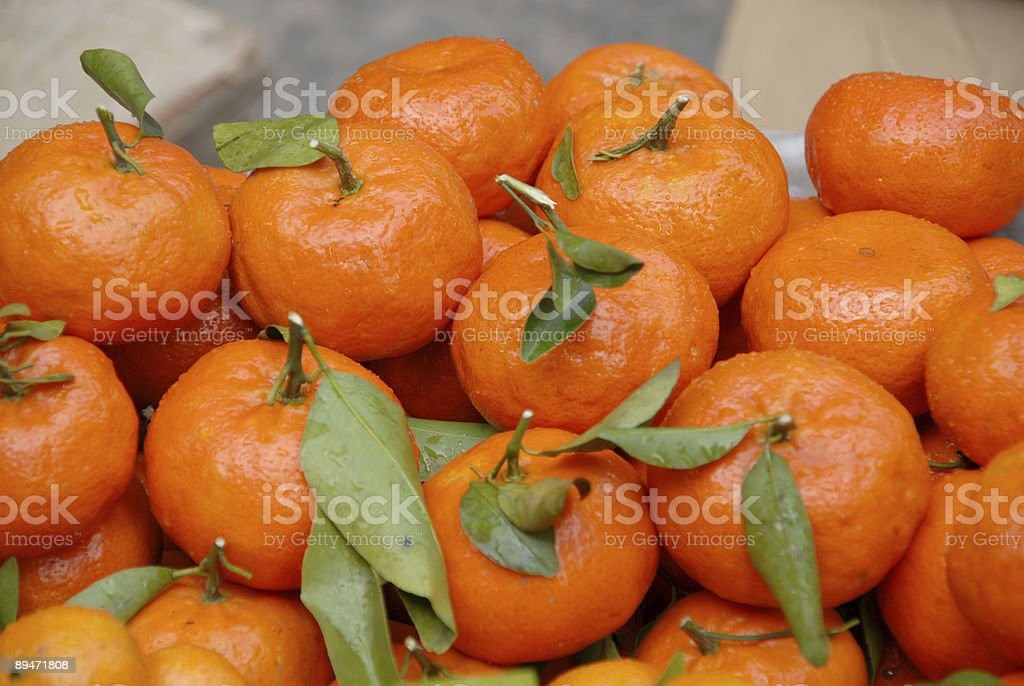 mandarin orange royalty free stockfoto