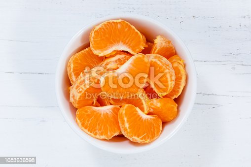 Mandarin oranges fruits from above bowl wooden board wood