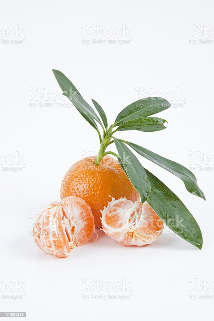 Mandarin royalty-free stock photo