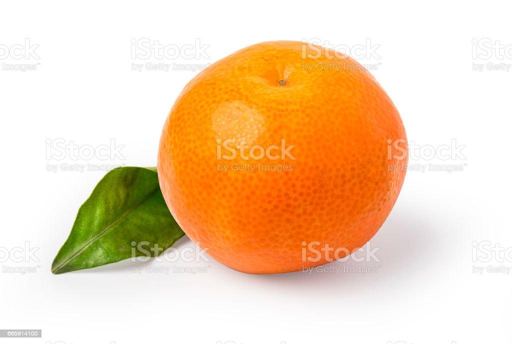 Mandarin, tangerine citrus fruit foto stock royalty-free