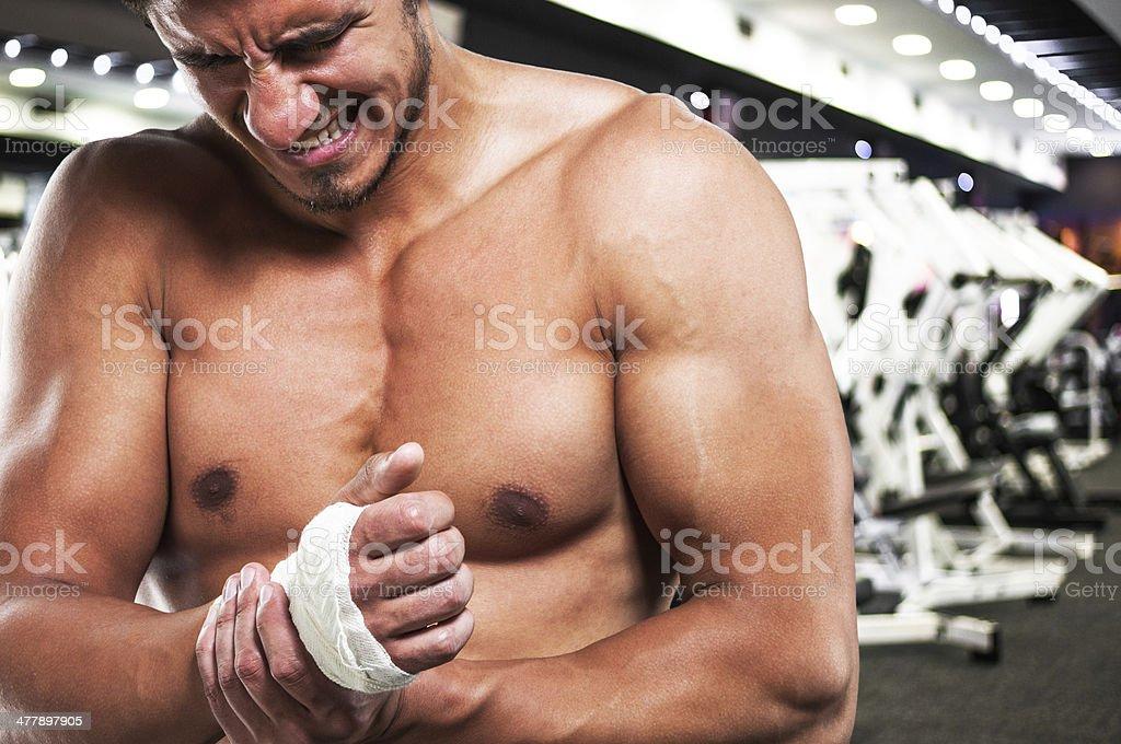 Mandatory pain stock photo