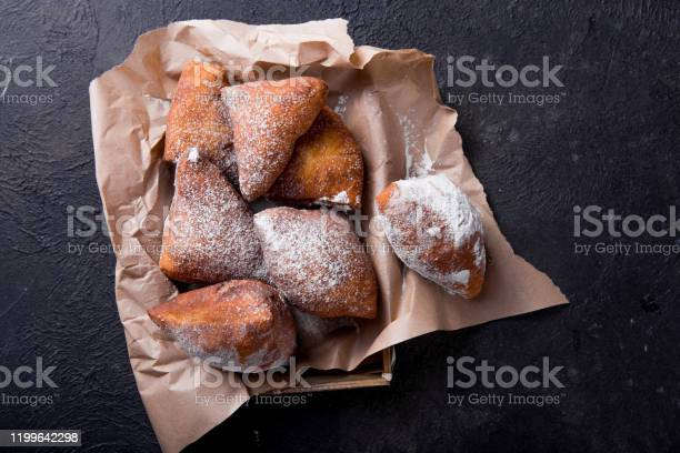 Mandazi Is A Slightly Sweet East African Street Food Top View From Above Stock Photo Download Image Now Istock