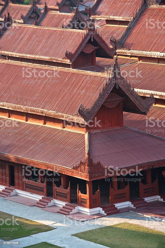 Mandlay Myanmar stock photo
