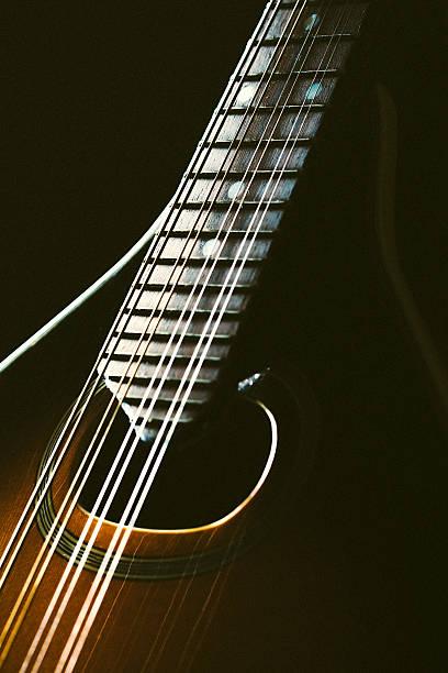Bandolim instrumento detalhe - foto de acervo