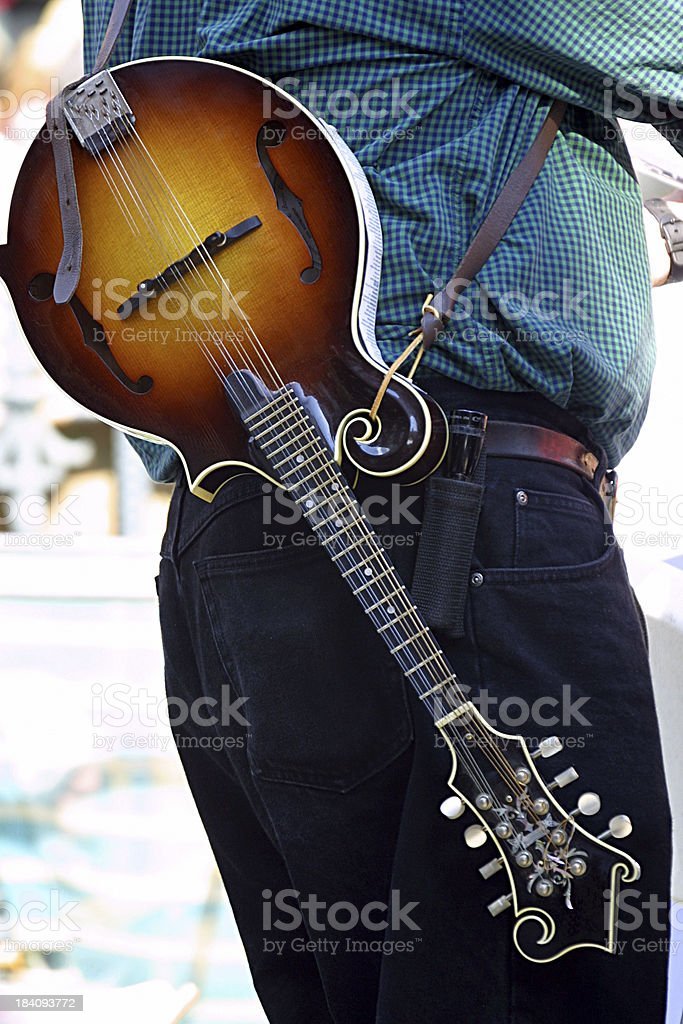 Mandolin royalty-free stock photo