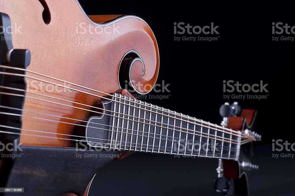 Mandolin stock photo