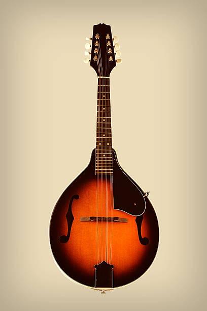 Mandolin with Vintage Effects - foto de acervo