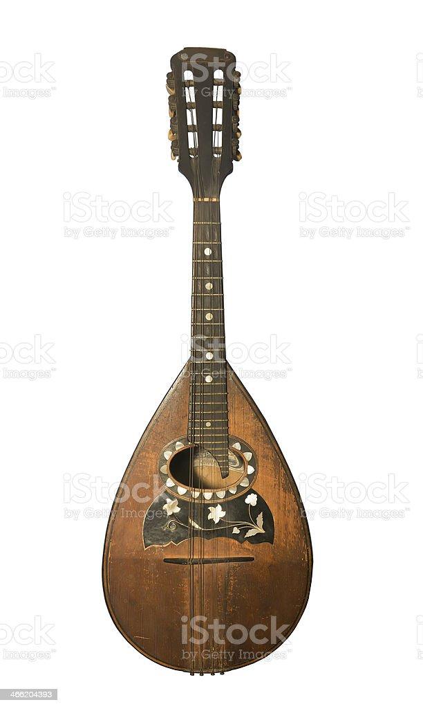 Mandoline stock photo