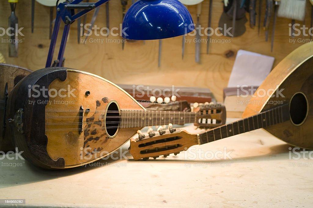 Mandolins stock photo