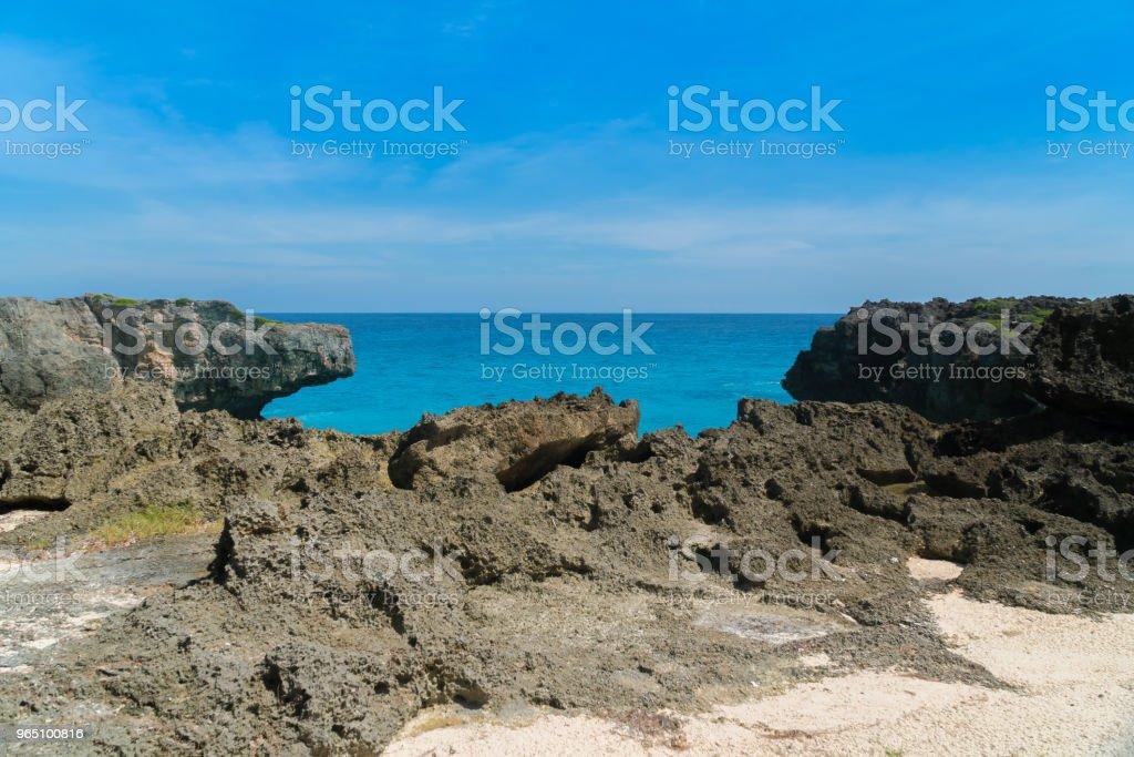 Mandorak Beach, Sumba royalty-free stock photo