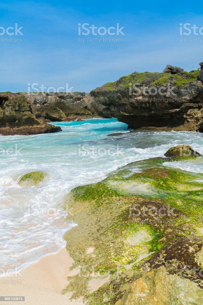 Mandorak Beach, Sumba zbiór zdjęć royalty-free