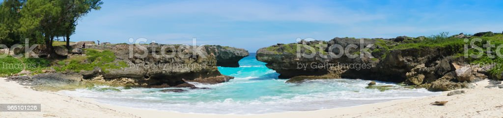 Mandorak Beach, Sumba royalty-free stock photo