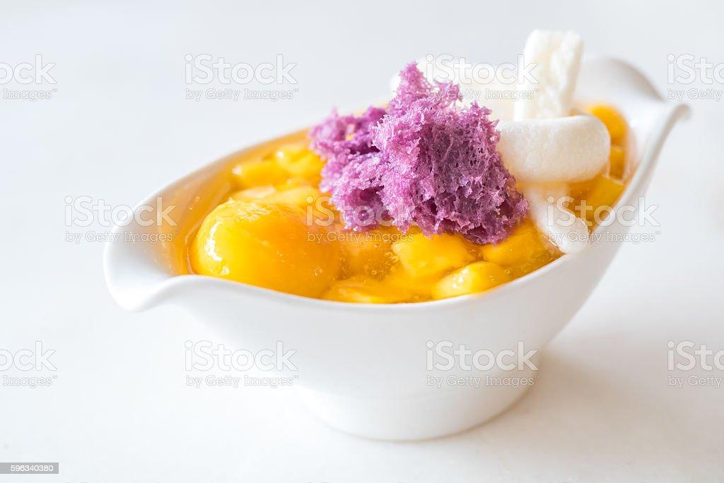 mango-dessert Lizenzfreies stock-foto