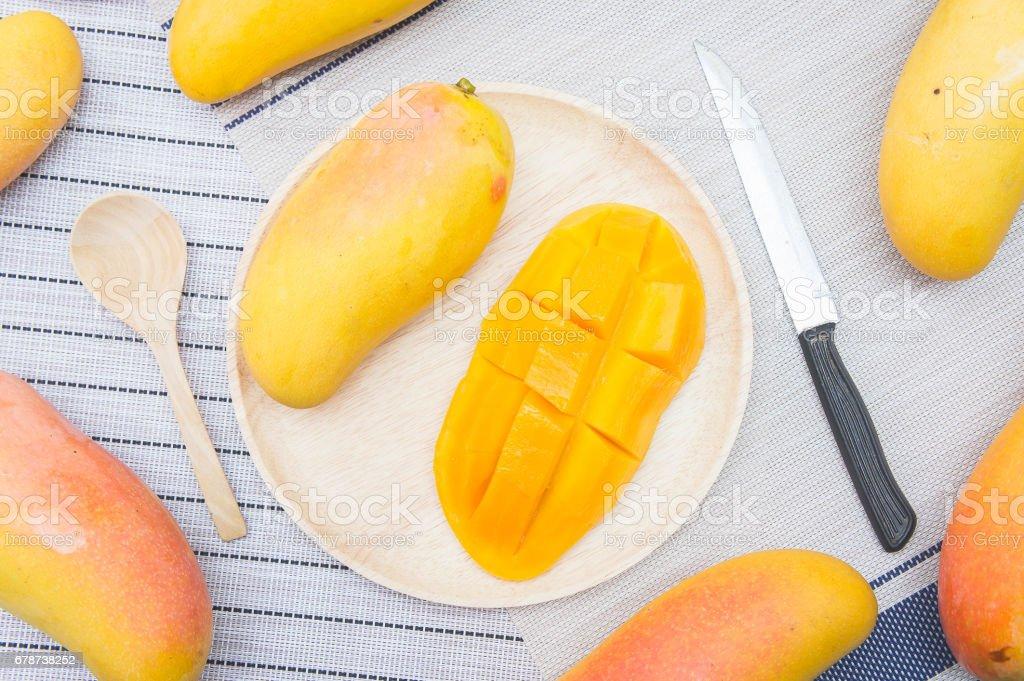 Mango meyve, meyve yaz royalty-free stock photo