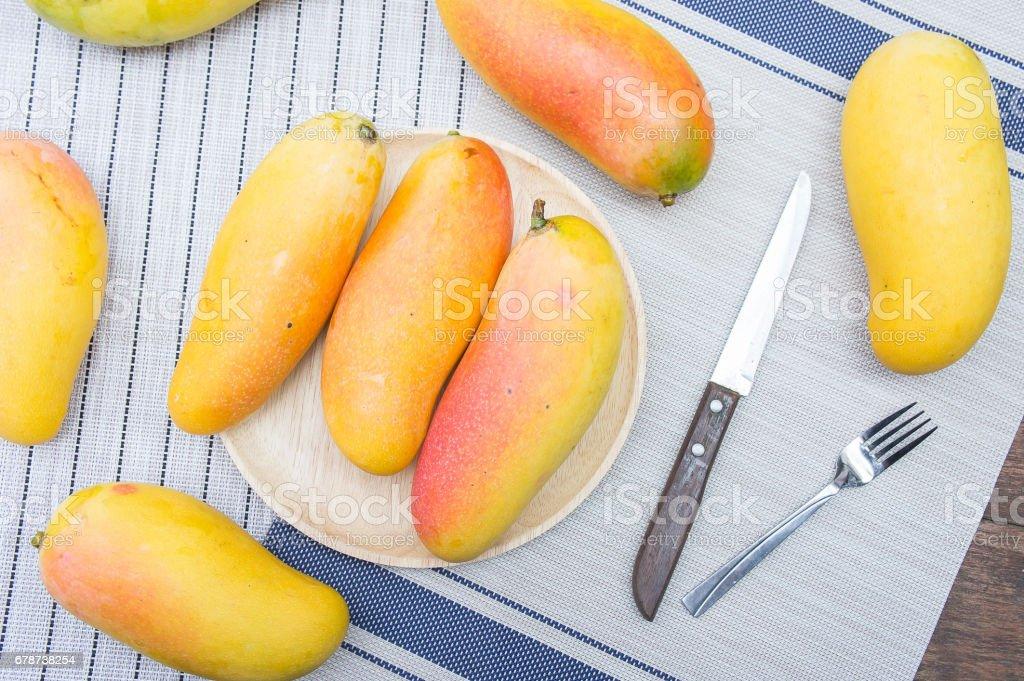 mangues, fruit estival photo libre de droits