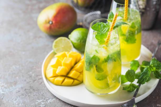 Mango-Minze mojito Cocktail – Foto