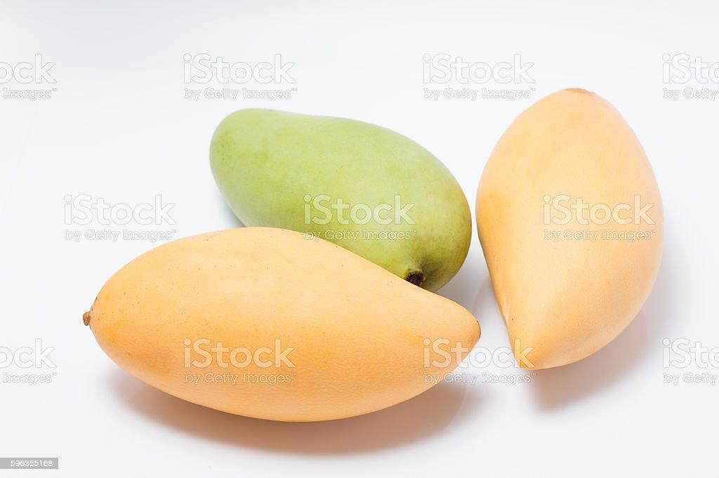 mango  on white background royalty-free stock photo