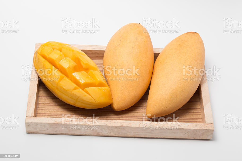 mango  on white background royalty-free stock photo