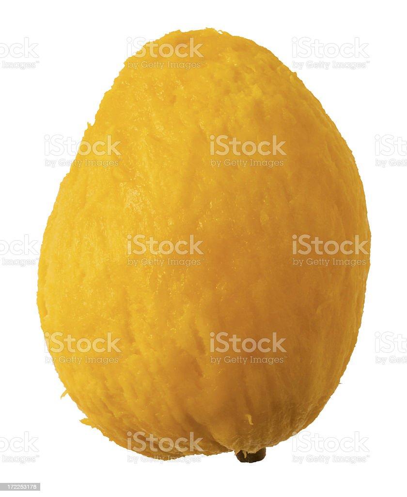 Mango Petacon (skinless) royalty-free stock photo