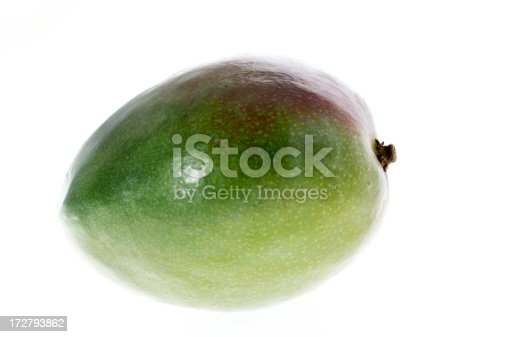 mango isolated on white