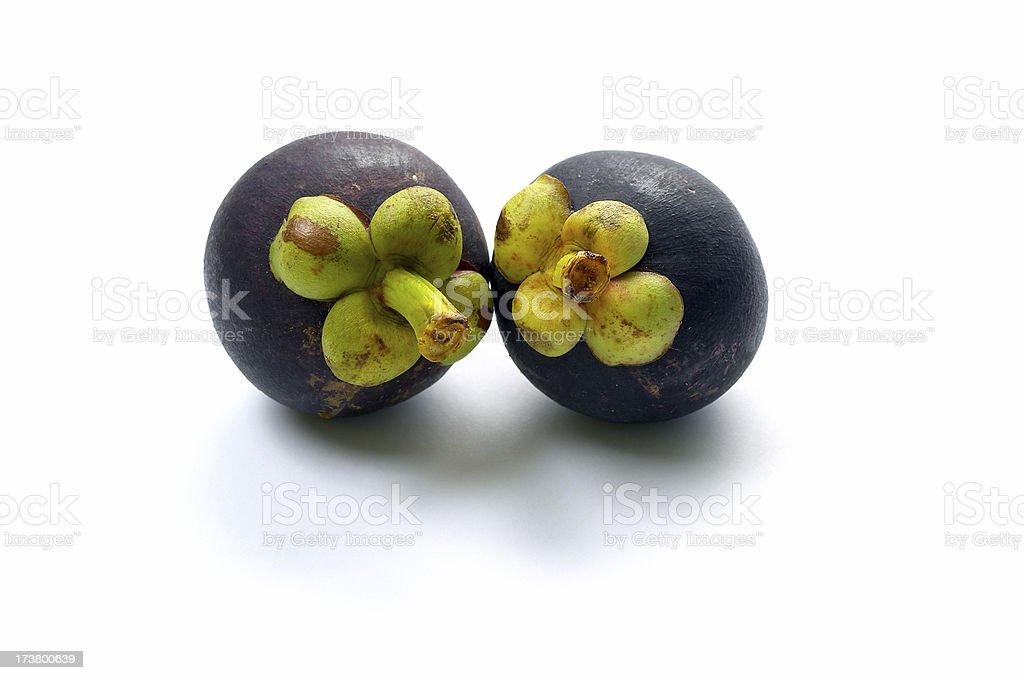 Mangostan - Exotic Fruit royalty-free stock photo