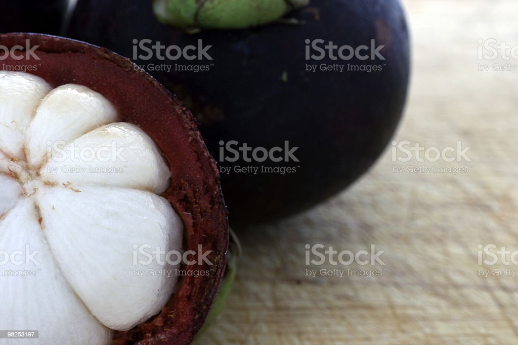 Mangosteen royalty-free stock photo