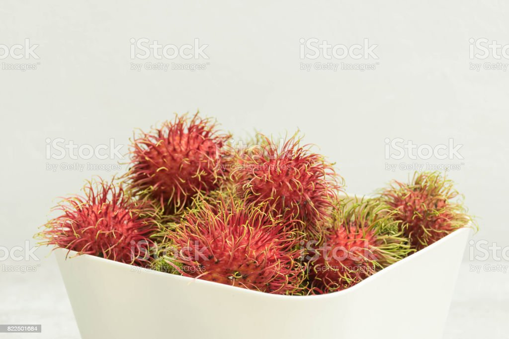 mangosteens stock photo