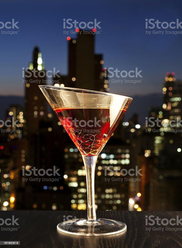 Manhatan cocktail royalty-free stock photo