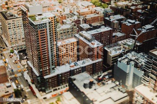 507831914 istock photo Manhattan aerial view, New York, USA 1135367107