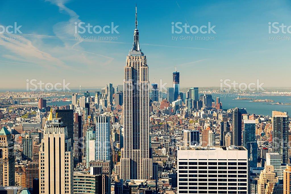 Luftbild von Manhattan – Foto