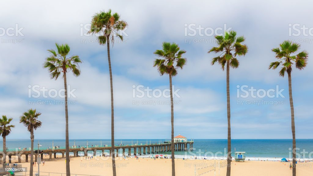 Manhattan Beach Los Angeles California Stock Photo Download Image Now Istock