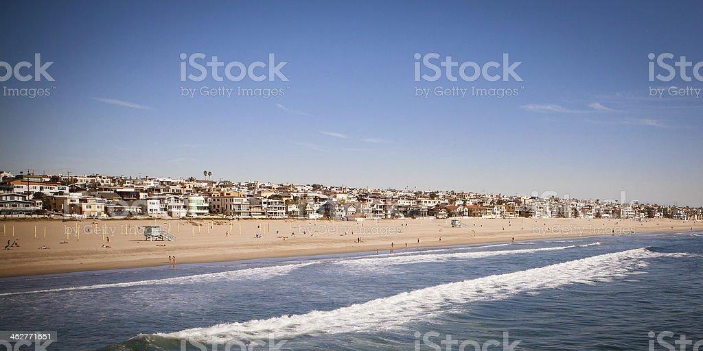 Manhattan Beach royalty-free stock photo
