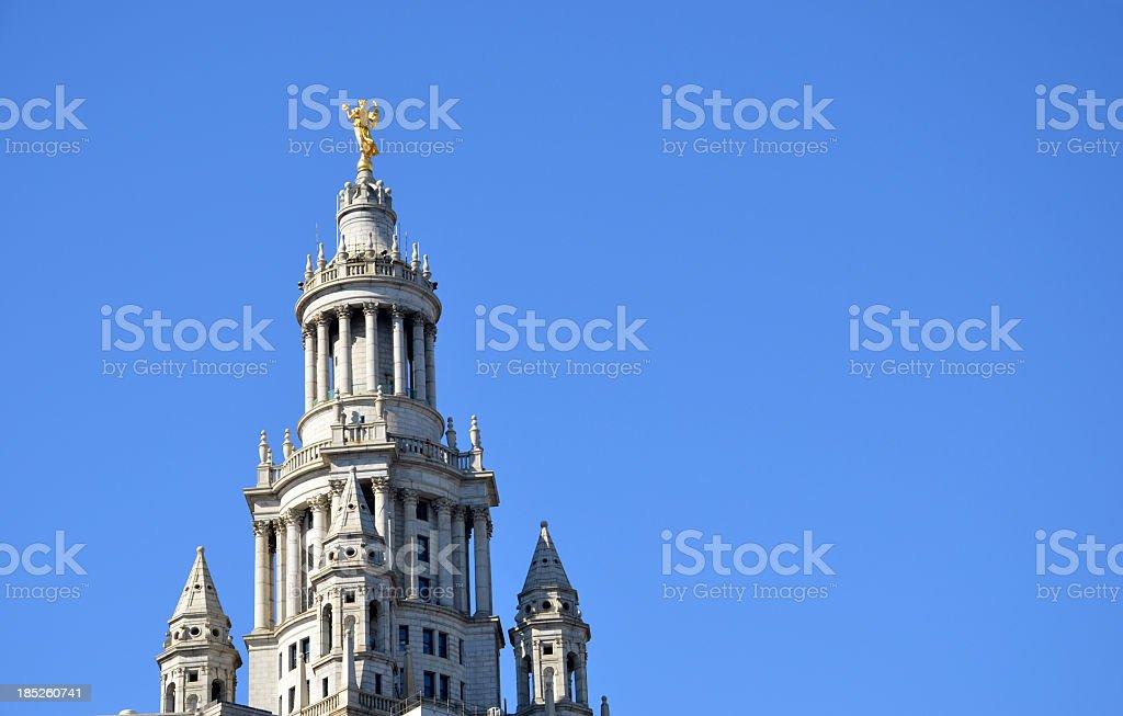 Manhattan Borough Presidents Building stock photo