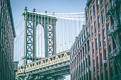 istock Manhattan Bridge as seen from Washington Street DUMBO Brooklyn New York City 657478736