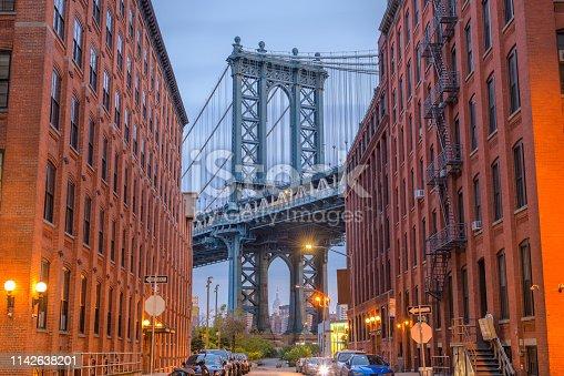 istock Manhattan Bridge from Brooklyn New York 1142638201