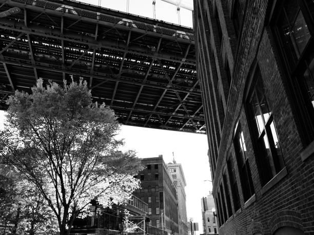 Manhattan Bridge in New York City – Foto