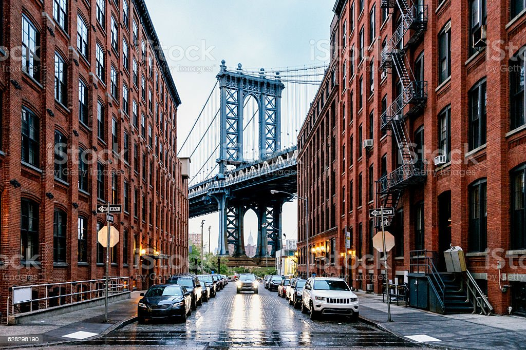 Ponte di Manhattan, New York  - foto stock