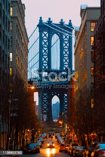 624265498 istock photo Manhattan Bridge, NYC - Dumbo Famous View 1138853783