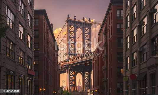 istock Manhattan Bridge, NYC 624265498