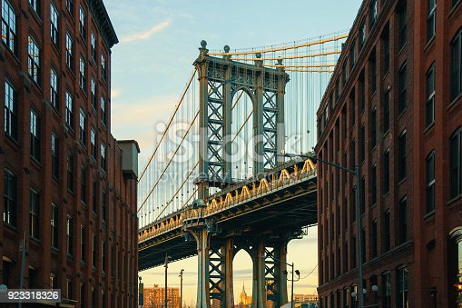624265498 istock photo Manhattan Bridge, NYC 923318326