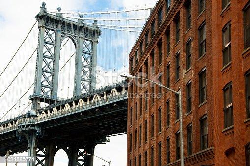 istock Manhattan Bridge 1034885774