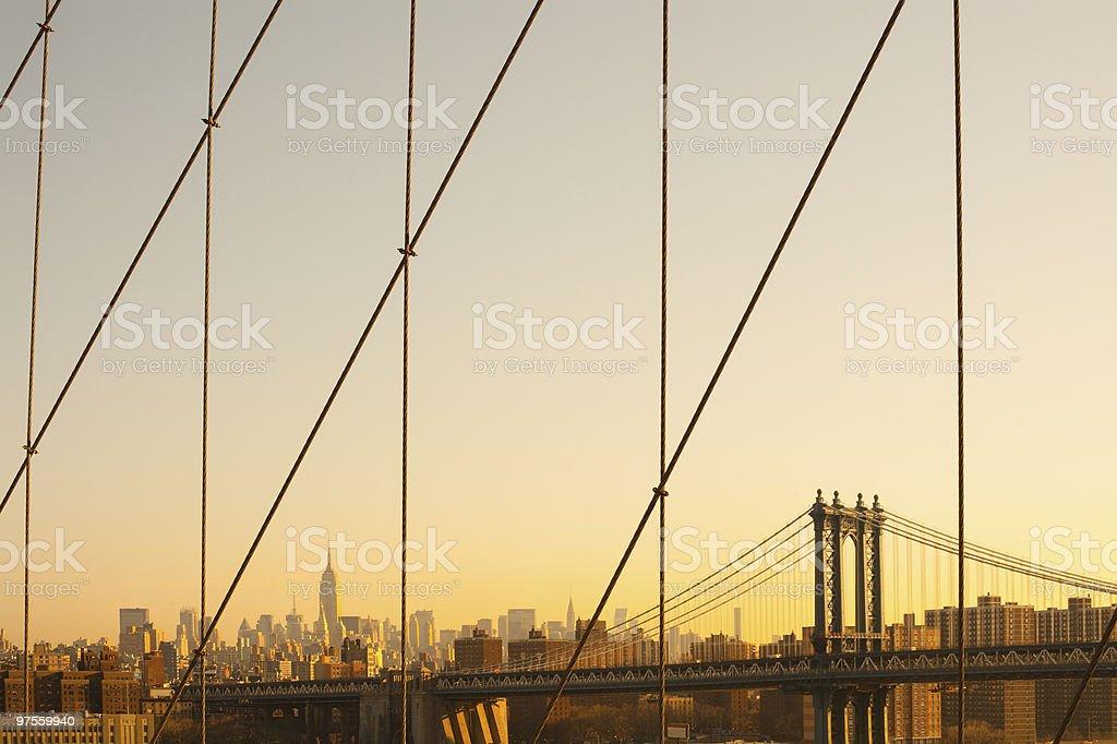 Pont de Manhattan photo libre de droits