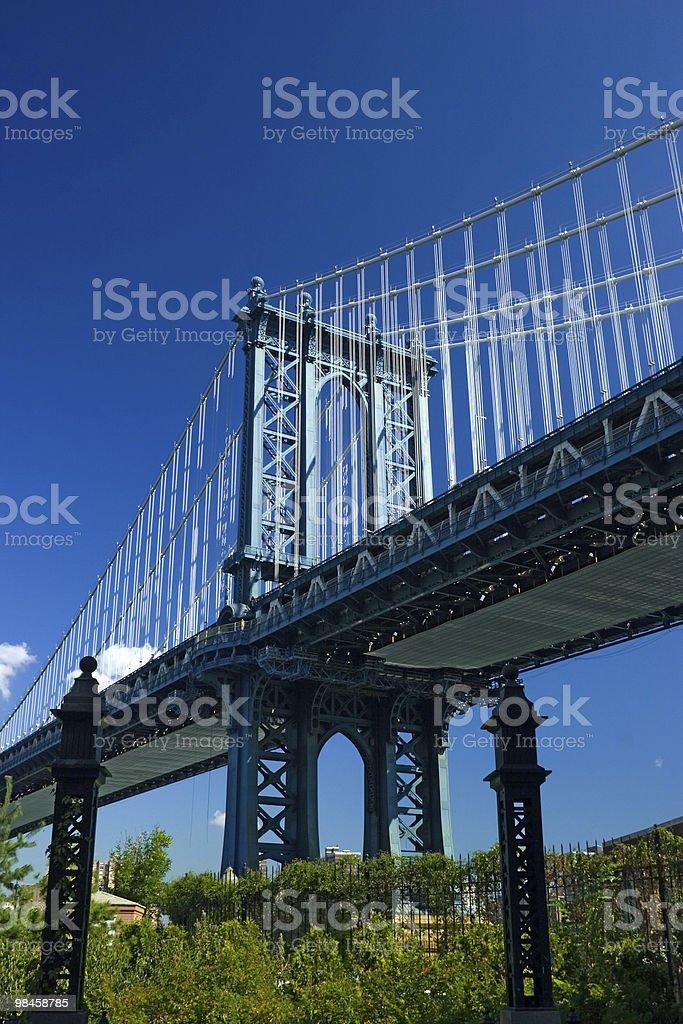 Manhattan Bridge foto stock royalty-free