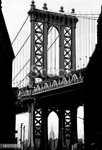624265498 istock photo Manhattan Bridge View from Brooklyn 1012722752