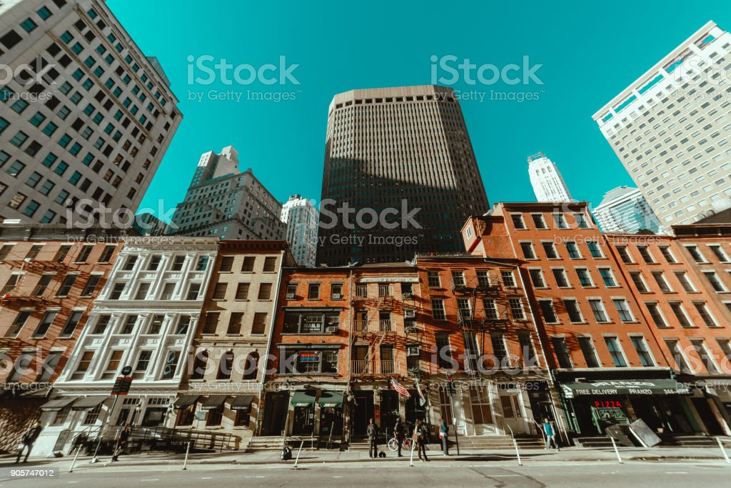 Manhattan Buildings stock photo