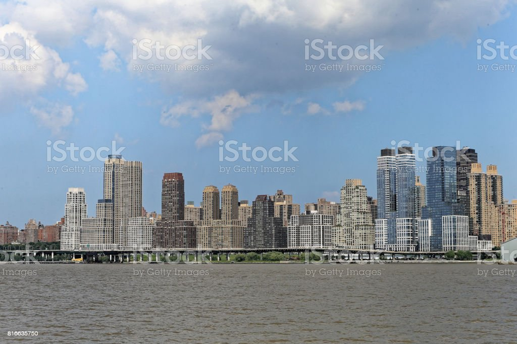Manhattan Cityscape stock photo