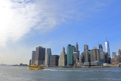Manhattan Stadtbild Stockfoto und mehr Bilder von Brücke