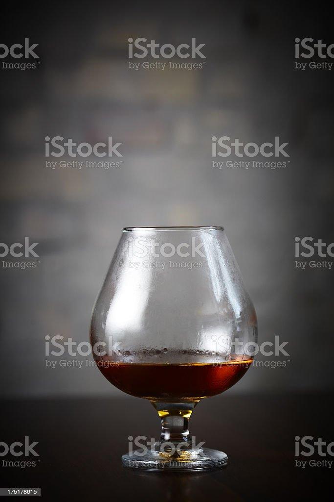 Manhattan cocktail on bar royalty-free stock photo