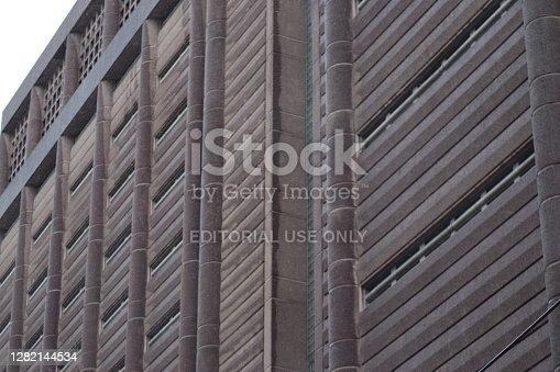 """istock Manhattan Detention Complex, aka """"The Tombs"""" in Lower Manhattan 1282144534"""
